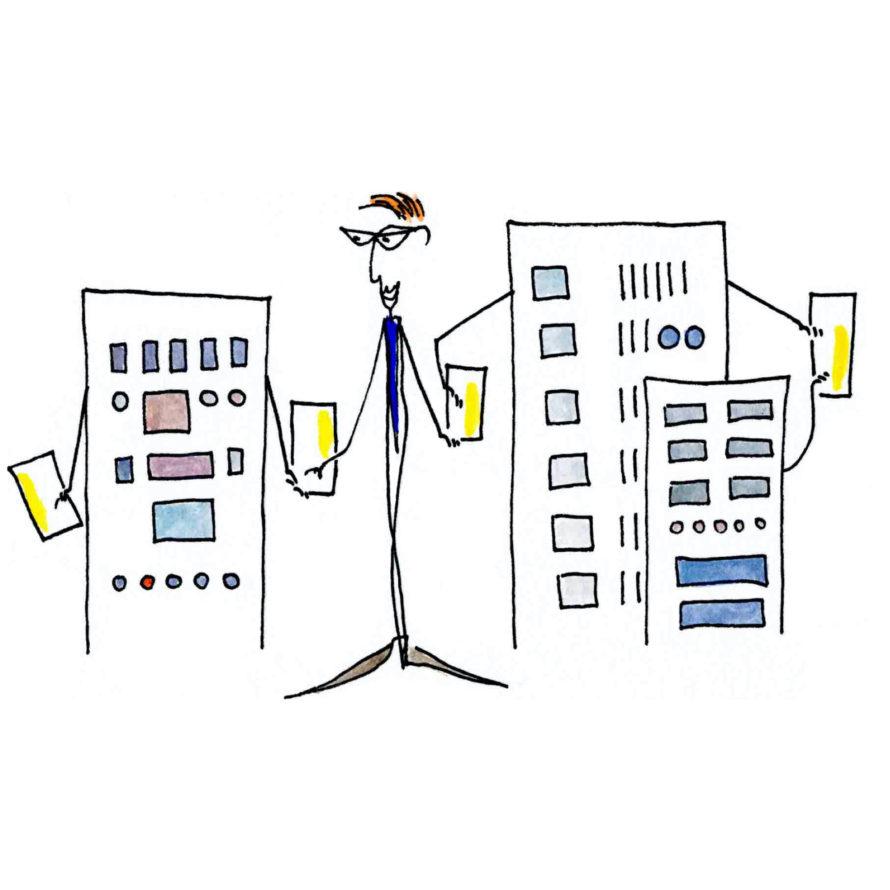 Bestandteile eines Geschäftsmodells von Liebich & Partner